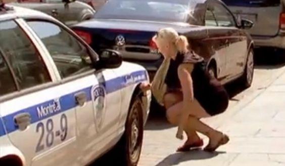 Essa pegadinha é boa!!!! Vai dar bola para uma policial bonitona pra você ver!!! Vai!!!! kkkkkkkkkk