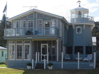 This beach house is way too cool!