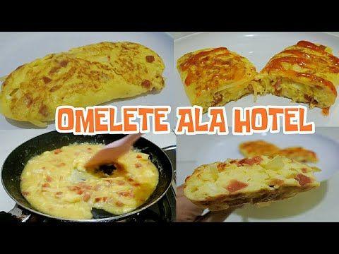 Resep Omelete Ala Hotel Menu Sarapan Praktis Youtube Makanan Makanan Dan Minuman Sarapan