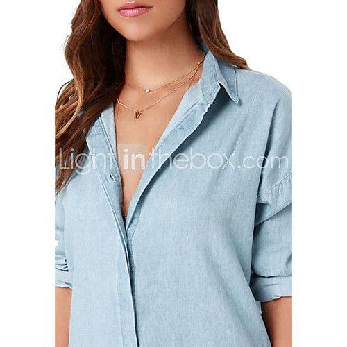 Vestido De las mujeres Casual - Otro - USD $ 14.99