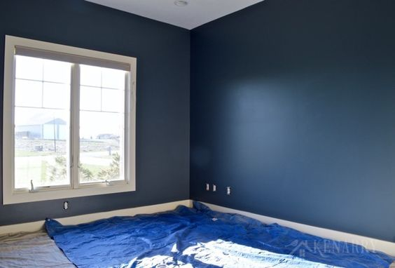 outerspace paint from Sherwin-Williams.