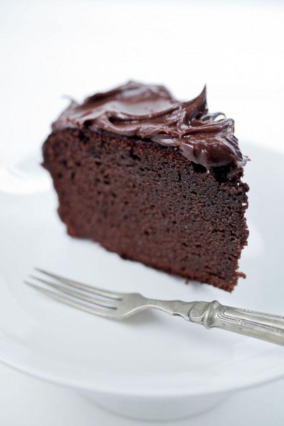 Flourless Chocolate Cake Recipe Made With Cocoa Powder