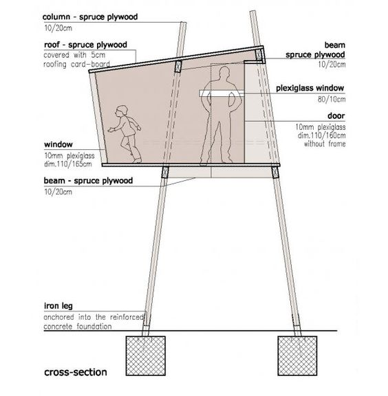 Tree house plans  Tree houses and House plans design on PinterestFree Standing Tree House  how to build pictures   Modern House Designs