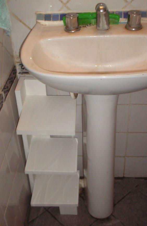 Tipos de muebles esquineros de madera para el ba o - Tipos de espejos para banos ...