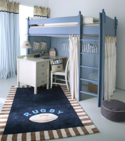 The Baby Cot Shop - Hand Painted High Sleeper Bed, £2,568.00 (http://www.thebabycotshop.com/hand-painted-high-sleeper-bed/)