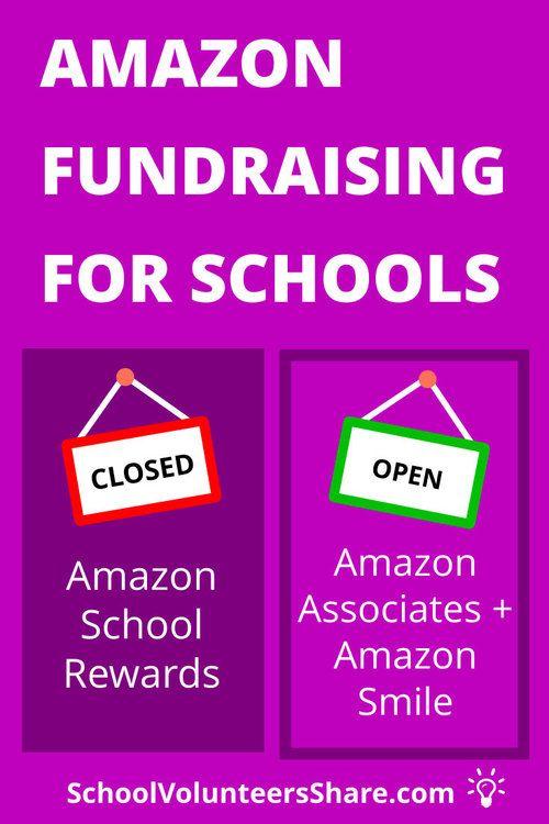 Pto Guide To Amazon School Rewards School Fundraisers Fundraising