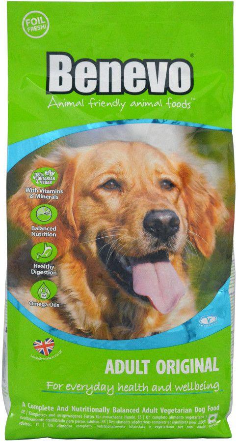 Benevo Vegan Adult Dog Food Original 2kg Dog Food Recipes