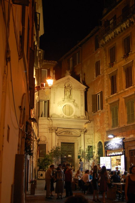 Tiny Church by Campo de' Fiori