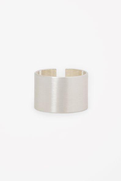 Matte Split Cuff Ring