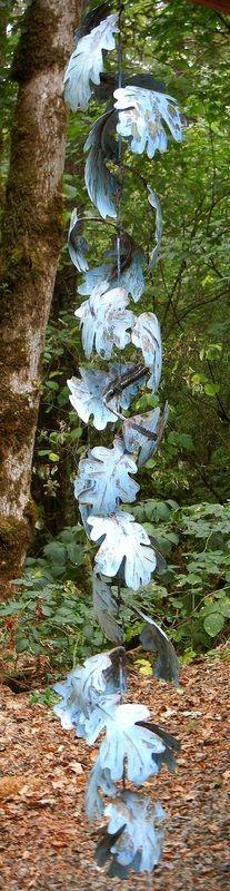 Rain Chains - Cowdawg Creations -Copper Garden Art: