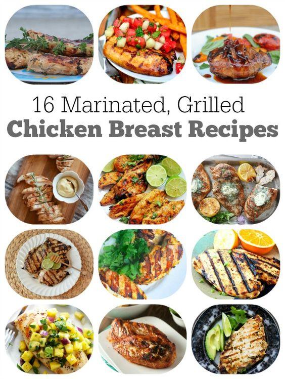 Marinated grilled chicken, Grilled chicken and Teriyaki chicken on ...