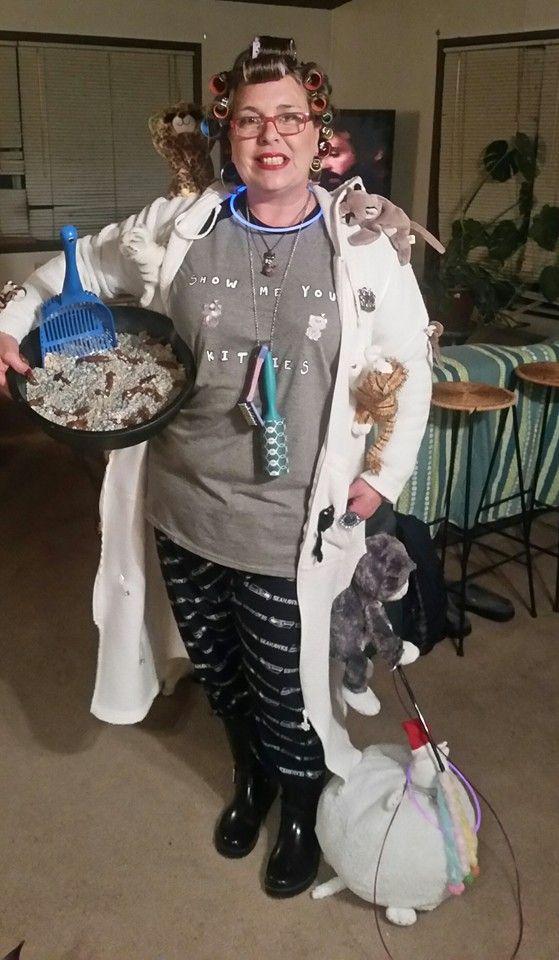 Crazy Cat Lady Costume | Halloween 2015 - Crazy Cat Lady ...