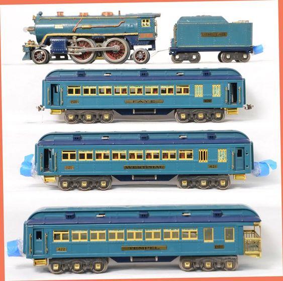 Lionel 13103 Blue Comet 13408 Blue Comet Passenger Cars