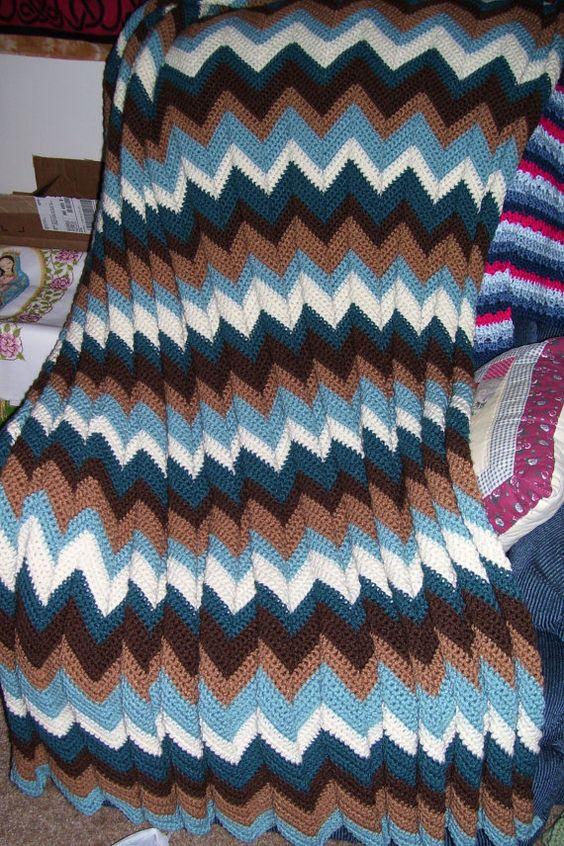 Crochet Pattern For Zig Zag Rug : Pinterest The world s catalog of ideas