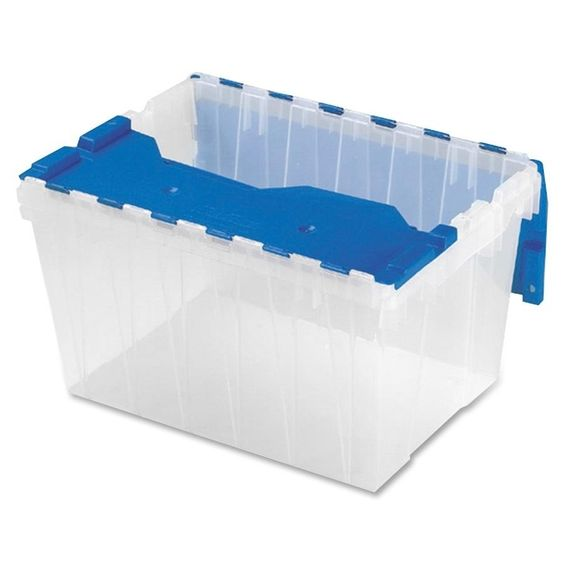 Akro-Mils Keep Box Container with Lid - 1/EA