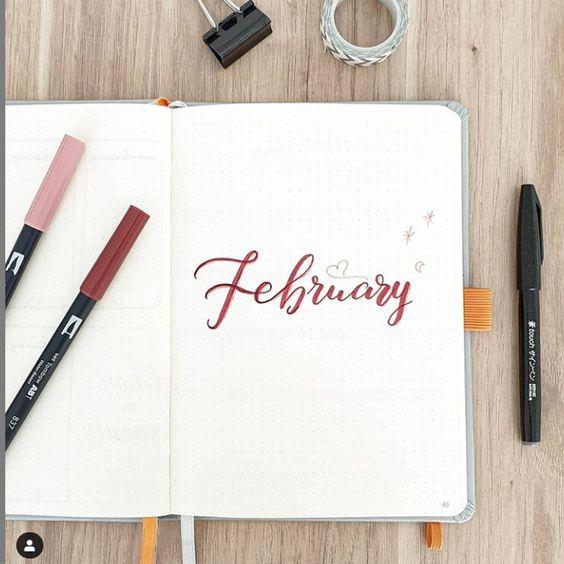 30 idées pour votre monthly cover de février