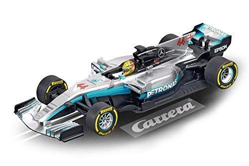 Gray Hamilton No 44 1: 32 Scale Digital 132 Slot Car Racing Vehicle Carrera 20030840 30840 Mercedes-Benz F1 W08 L