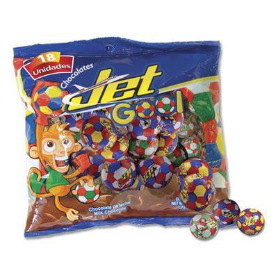 Jet chocolate balls