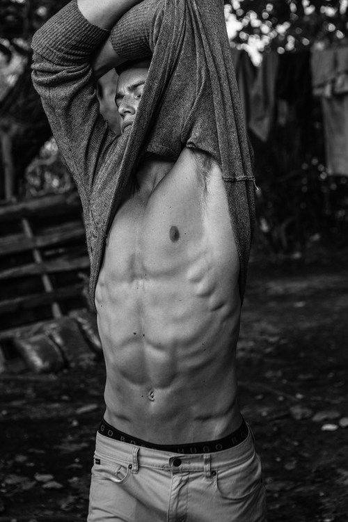 Take it off!  Grey shirt***   Source: homotography…