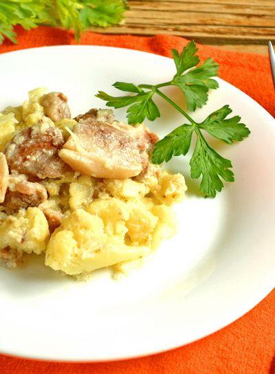 Цветная капуста с мясом.   Еда XXI века. Кулинарный блог Тимошина Алексея.