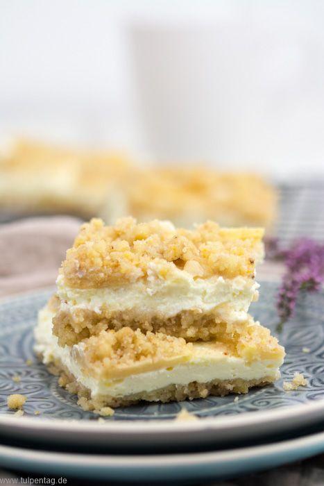 Streuselkuchen Mit Apfeln Und Quark Streuselkuchen Quark Streuselkuchen Und Apfel Quark Kuchen