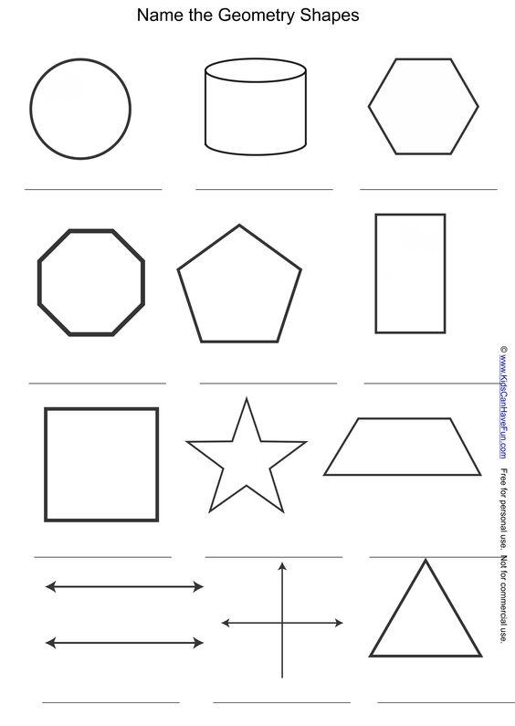 name the geometry shapes and symbols worksheet. Black Bedroom Furniture Sets. Home Design Ideas