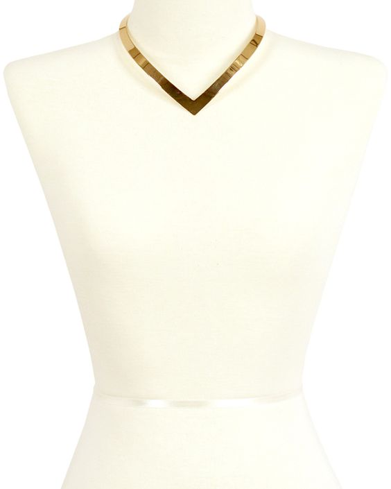 Spotted this Sparkling Sage 14K Plated V Choker Necklace on Rue La La. Shop (quickly!).