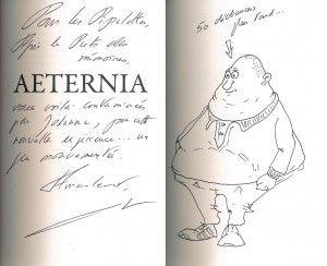 Dédicace de Aeternia par Gabriel Katz