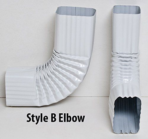 2x3 And 3x4 Downspout Gutter Elbows Choose From 30 Degree 45 Degree 75 Degree 90 Degree 90 Degree Style B 3x4 Rain Barrel Kit Downspout Downspout Diverter