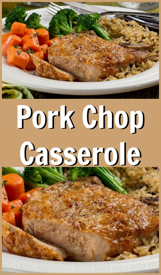 This easy pork chop casserole requires hardly any work at all, and is a tasty weeknight favorite. Check out what people are saying about it!