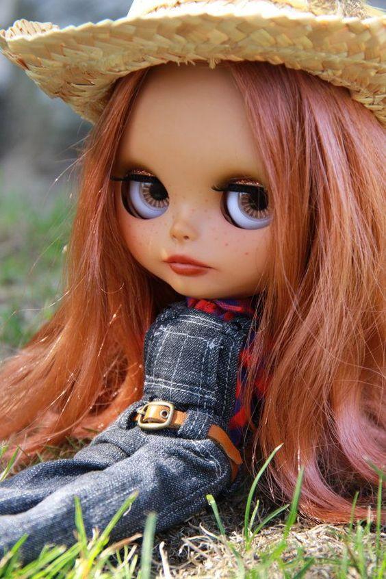 Custom Blythe doll Summer OOAK by BigEyesBlythe on Etsy