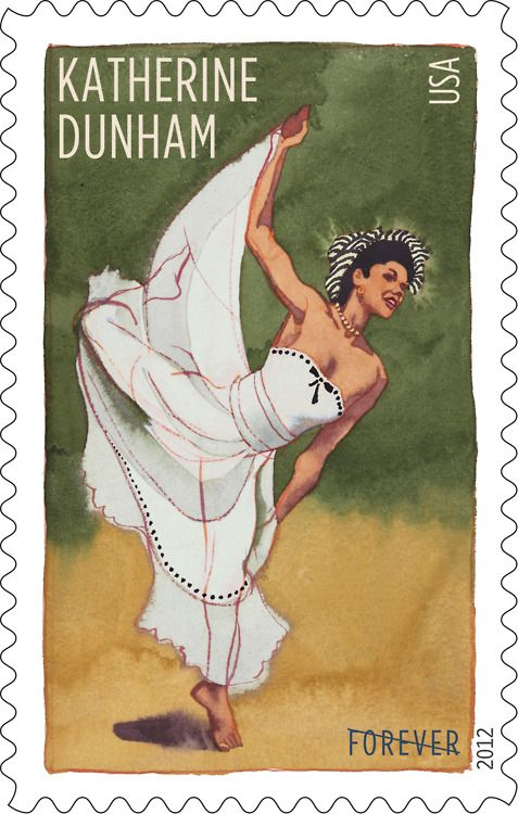 Forever Katherine Dunham - a stamp of homage