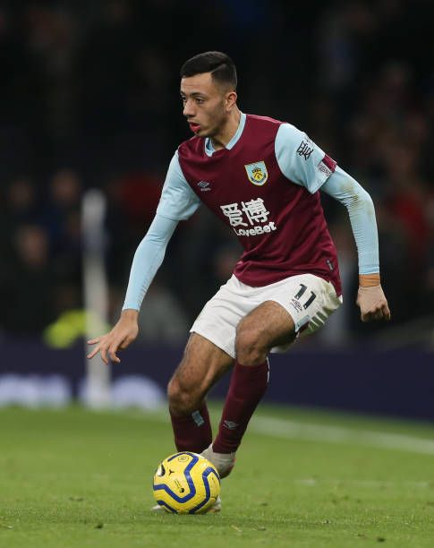 Dwight Mcneil Of Burnley In 2019