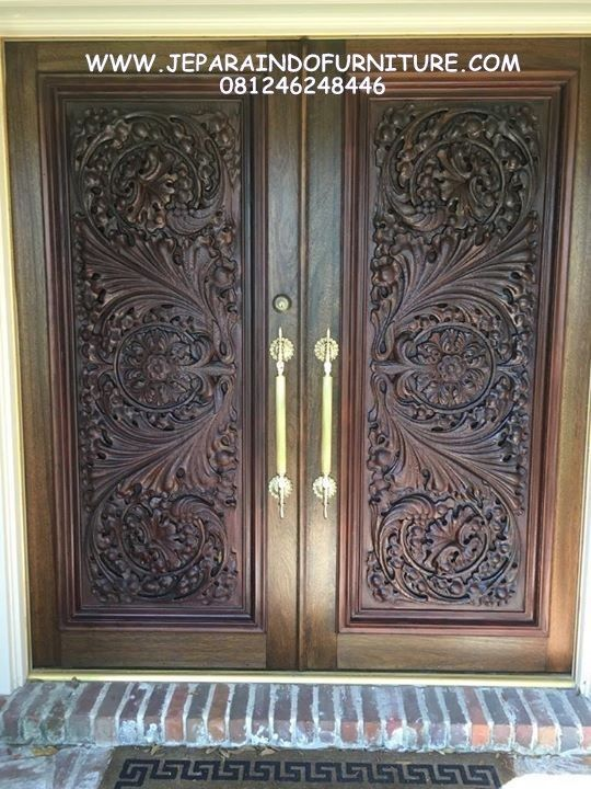 Kusen Pintu Relief 3 Dimensi Mewah Konsep Klasik Ukir Minimalis Custome Modern Furniture Jepara Handmade Pintu Kamar Single Dan Pintu Kupu Pintu Ukiran Modern