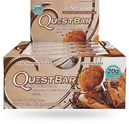 Quest Protein Bars by Quest Nutrition - Double Chocolate Chunk