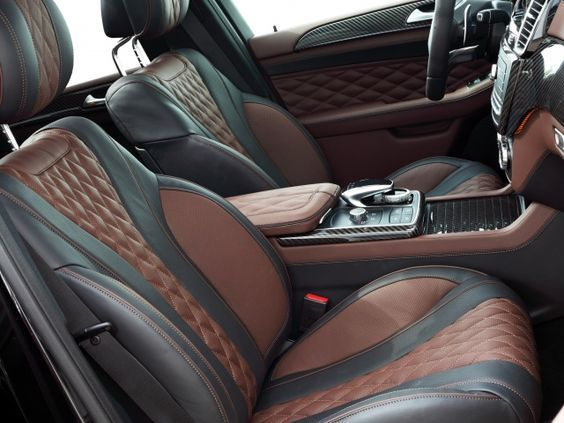Car Interior Brown Black Blue Interior Custom Diamond Stitch Console Door Panels Dash Interior Dizajn Salona Avtomobilya Avtomobilnye Chehly Avtokresla