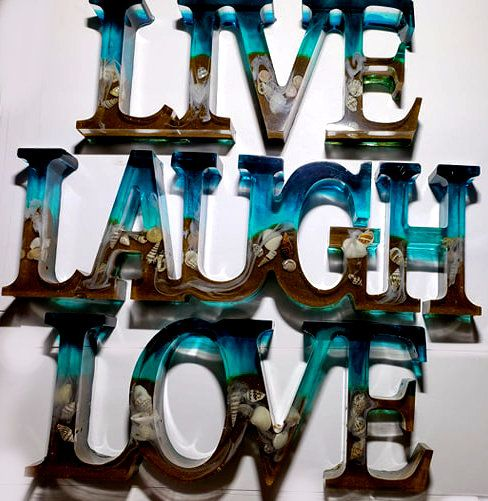 Live Laugh Love Sign Beach Decor Home Decor Live Laugh Love Etsy Beach Theme Decor Beach Decor Beach Themes
