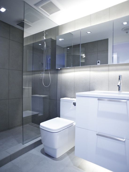 Awe Inspiring Modern Bathroom Small Bathroom Design Pictures Remodel Decor Largest Home Design Picture Inspirations Pitcheantrous