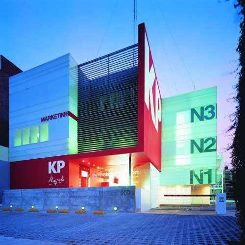 Contemporary small office building design building for Modern office building exterior design