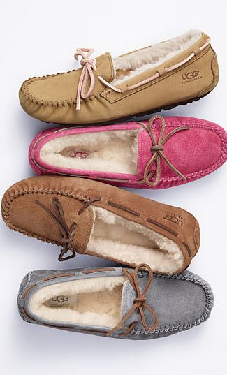 Spending the day out on Valentine's Day? Slip into our Dakota slippers to relax…