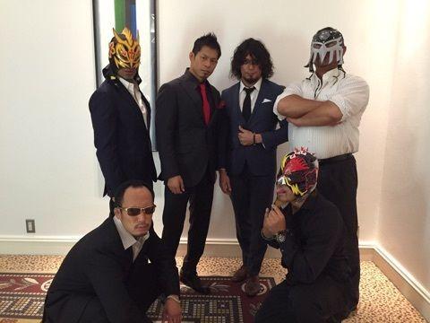 Punch Tominaga, K-Ness, Naruki Doi, YAMATO, Cyber Kong & Mondai Ryu