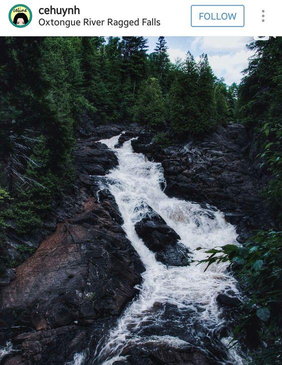 Oxtongue River Ragged Falls