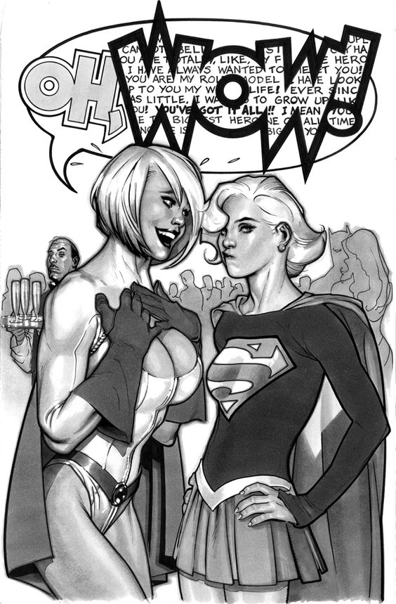 Powergirl,¿personaje subvalorado en DC Universe?: 1abda6a5b9c4b47c0984acff40a4d8e5