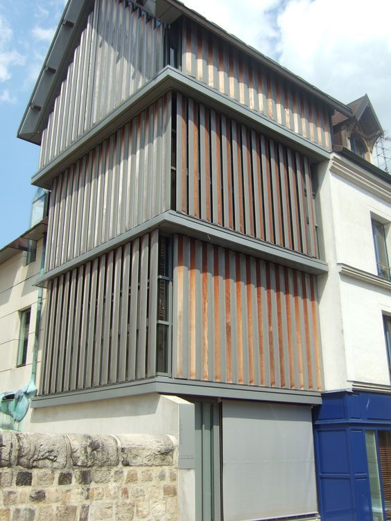 Chateau thierry colombage moderne colombage pinterest for Abritel biarritz studio