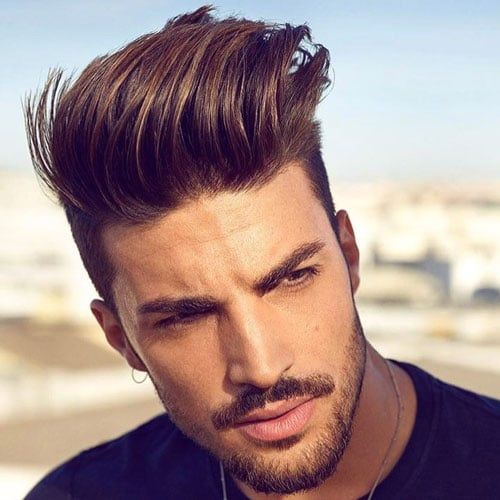 21 Best Pompadour Fade Haircuts 2020 Guide Pompadour Fade Pompadour Fade Haircut Cool Hairstyles For Men