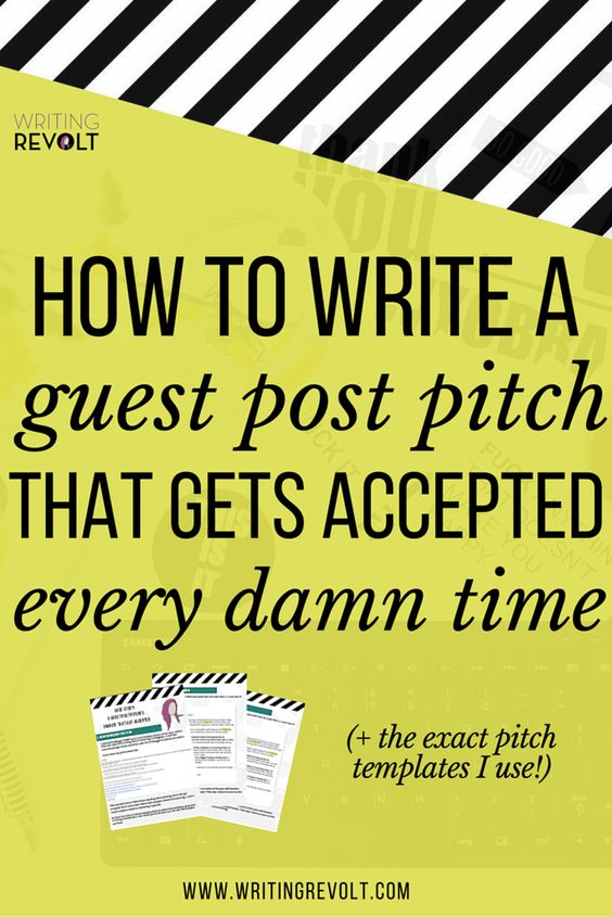 This 2500-word guide will walk you through everything you need to know to write a guest post pitch that gets accepted! Perfect if you're a blogger or freelance writer looking for guest blogging tips! (how to write a pitch, make money writing online, freelance writing tips, blogger tips)