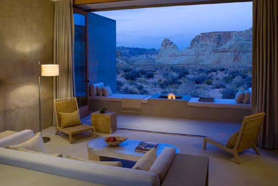 A resort spa carved out of the Utah Desert