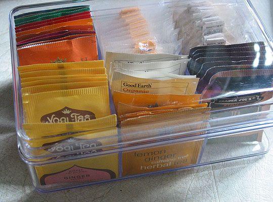 Good Product:  Teabag Storage Caddy