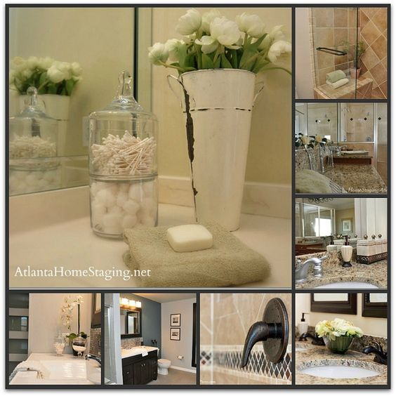 Atlanta home staging company tips for your bathrooms when - Staging a bathroom to sell ...