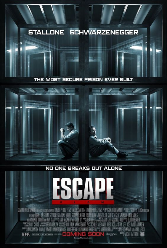 Escape Plan (2013) - The inner 80s action child in me enjoys seeing Sly and Arnold, but the movie-lover quickly scolds me. It's eh. Arnold's stunt-double does great work.